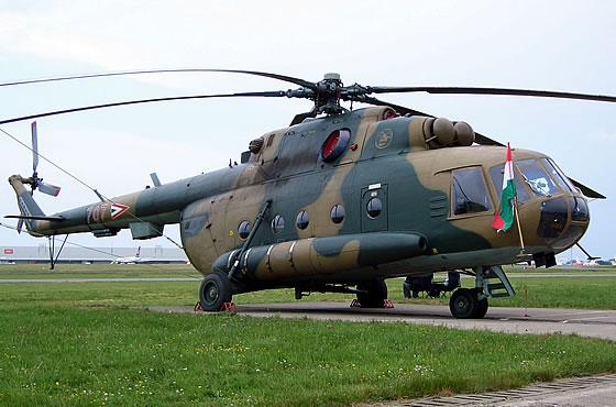 Вертолет Ми-17 на унгарските ВВС
