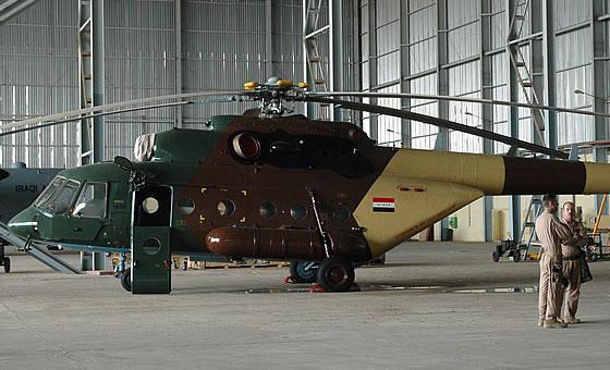 Ми-17 на иракските ВВС