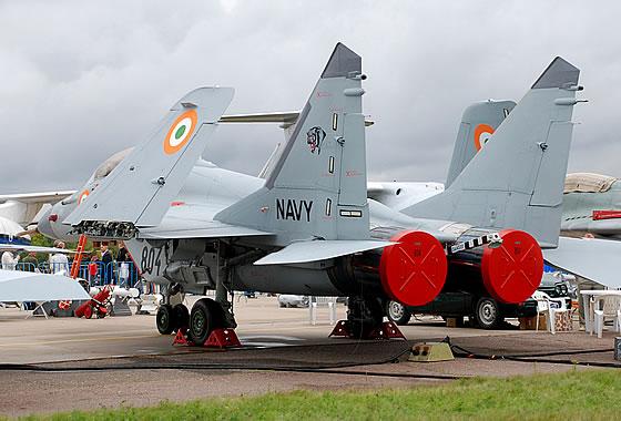 МиГ-29К на индийските ВМС